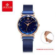 Đồng hồ Julius nữ JA1172C dây thép khóa nam châm - Size 31