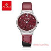 Đồng hồ nữ Julius JA1181A DÂY DA - Size 33