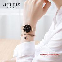 Đồng hồ nữ Julius JS027C kính Sapphire dây inox