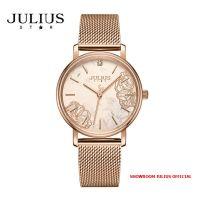 Đồng hồ nữ Julius Star JS033A kính Sapphire dây inox