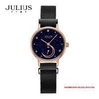 Đồng hồ nữ Julius Star JS038C kính Sapphire Khóa Nam Châm - Size 28