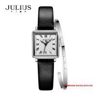 Đồng hồ nữ Julius Star JS031C kính Sapphire + Vòng Julius