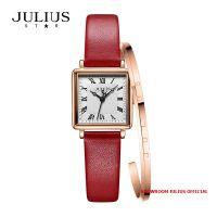 Đồng hồ nữ Julius Star JS-031 kính Sapphire + Vòng Julius - Size 20