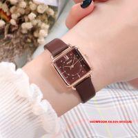 Đồng hồ Julius nữ JA1123 dây da nâu - Size 27