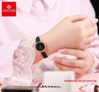 Đồng hồ nữ Julius JA1192D dây thép đen - Size 26