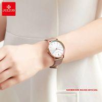Đồng hồ nữ Julius JA1183C dây da nâu  - Size 36