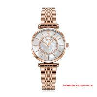 Đồng hồ nữ Julius JA1194C dây thép đồng - Size 32