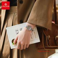 Đồng hồ nữ Julius JA1197B dây da xám
