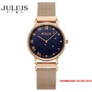 Đồng hồ nữ Julius Star JS037A kính Sapphire khóa nam châm - Size 28