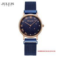 Đồng hồ nữ Julius Star JS037B kính Sapphire khóa nam châm - Size 28