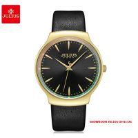 Đồng hồ nữ Julius JA1201 dây da đen