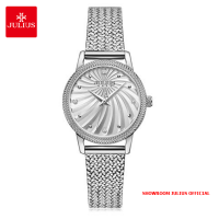 Đồng hồ nữ Julius JA1219 dây thép bạc