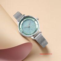 Đồng hồ nữ Julius JA1216 dây thép bạc - Size 32