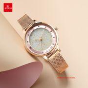 Đồng hồ nữ Julius JA1216 dây thép vàng đồng