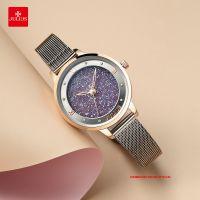 Đồng hồ nữ Julius JA1216 dây thép XÁM - Size 32