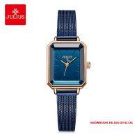 Đồng hồ nữ Julius JA-1223 dây thép xanh