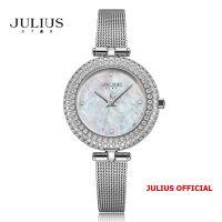 Đồng hồ nữ Julius Star JS-041 dây Inox kính saphire