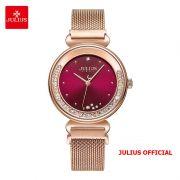 Đồng hồ nữ Julius JA-1224 dây thép khóa nam châm - Size 32