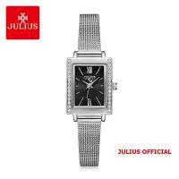 Đồng hồ nữ Julius JA-1226 dây thép bạc - Size 20