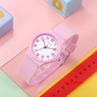 Đồng hồ nữ Julius Ja1055B dây silicon hồng - Size 32