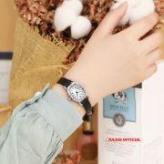 Đồng hồ nữ Julius JA-544 dây da đen - Size 22