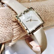 Đồng hồ nữ JULIUS JA-354 dây da kem - Size 20
