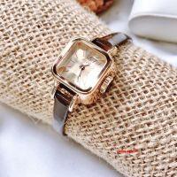 Đồng hồ nữ Julius JA-496 dây da nâu