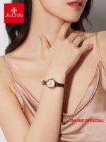 Đồng hồ nữ JULIUS JA979 dây da (nâu) - Size 24