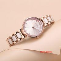 Đồng hồ nữ Julius JA1209 dây thép hồng - Size 30