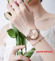 Đồng hồ nữ Julius JA-1248 dây thép vàng đồng - Size 33