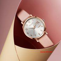 Đồng hồ nữ JULIUS JA-1211 dây da hồng - Size 30