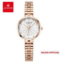 Đồng hồ nữ Julius JA-1278 dây thép bạc - Size 28