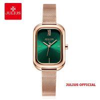 Đồng hồ nữ Julius JA-1281 dây thép - Size 33