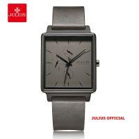 Đồng hồ nam Julius JAH-129 dây da xám | Size 38