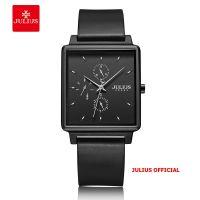 Đồng hồ nam Julius JAH-129 dây da đen | SIze 40