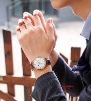 Đồng hồ nam Julius JAH-130 dây da nâu |  Size 40