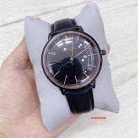 Đồng hồ nam Julius JAH-130 dây da đen |  Size 40