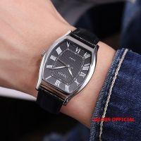 Đồng hồ nam Julius JA-703 dây da đen | Size 37