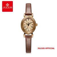 Đồng hồ nữ Julius JA-567 dây da nâu | Size 25