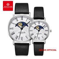 Đồng hồ cặp Julius JA-1308 dây da đen | Julius Official