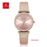 Đồng hồ nữ Julius JA-1306 dây da nâu | Size 28