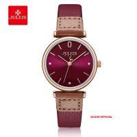 Đồng hồ nữ Julius JA-1306 dây da  lá | Size 28 Copy 05/05/2021 14:59:50