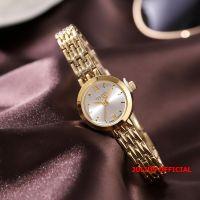 Đồng hồ nữ Julius JA-770 dây thép vàng |size 20