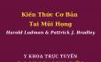 Đọc sách Online - Kiến Thức Cơ Bản Về Tai Mũi Họng Harold Ludman