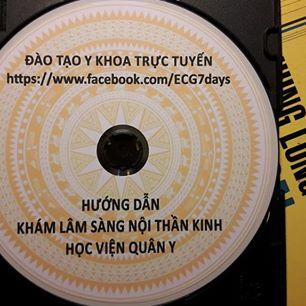 DVD Khám Lâm sàng Nội thần kinh