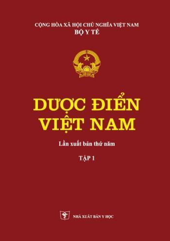 Dược Điển Việt Nam 5 Tập 1