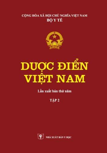 Dược Điển Việt Nam 5 Tập 2