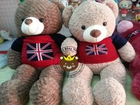 Gấu Teddy cờ Anh (1m2 & 1m4)