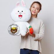 Thỏ Cony cầm carot (70cm,90cm)