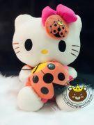 Gấu bông Hello Kitty ôm bọ (60cm)